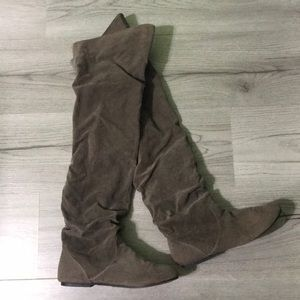 Wet Seal Over the Knee Boots